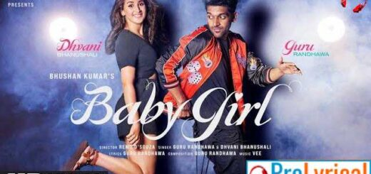 Baby Girl Lyrics in English