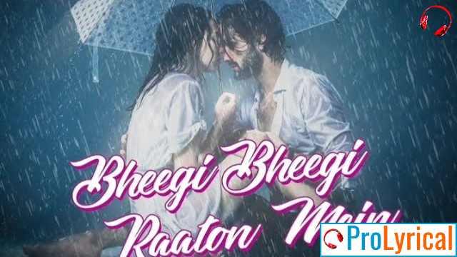Bheegi Bheegi Raaton Mein Phir Tum Aao Na Lyrics
