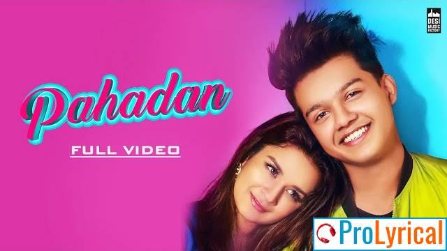 Pahadan Lyrics - Rajat Nagpal   Riyaz Ali & Avneet Kaur
