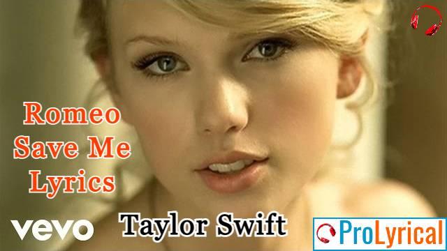 Love Story Lyrics - Taylor Swift ft. Romeo