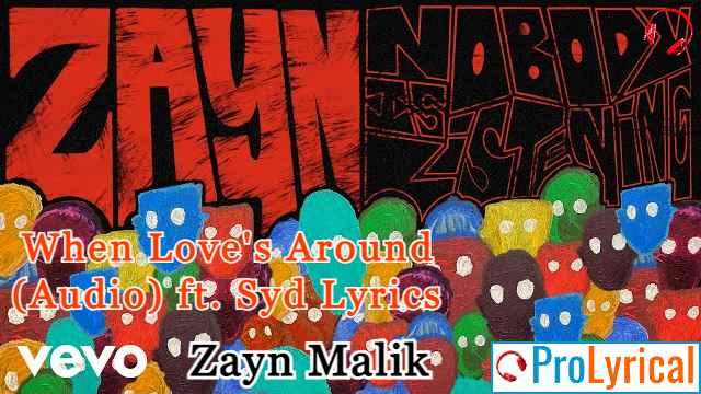 When Love's Around (Audio) ft. Syd Lyrics - Nobody is Listening