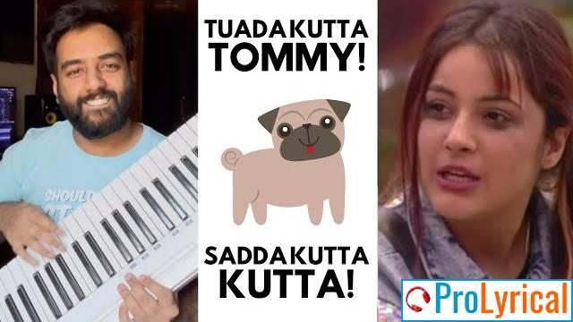 Tumhari Feeling Tumhari Meme Lyrics - Shehnaaz Gill