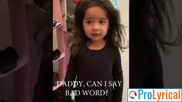Can I Say A Bad Word by a Little Girl - Full Original Video