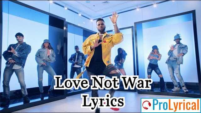 Can We Just Make Love Not War Lyrics - Jason Derulo