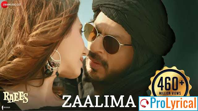 Deedar Tera Milne Ke Baad Lyrics - Raees