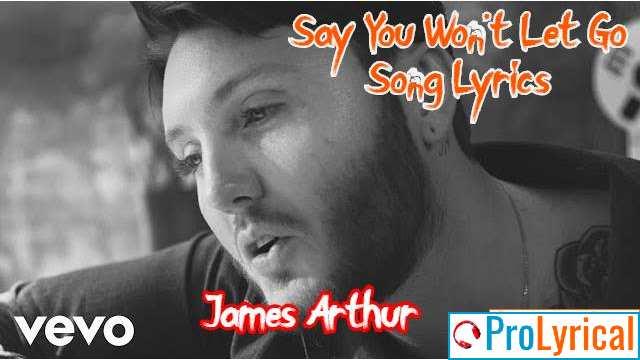 I Knew I Needed You but I Never Showed Lyrics – James Arthur