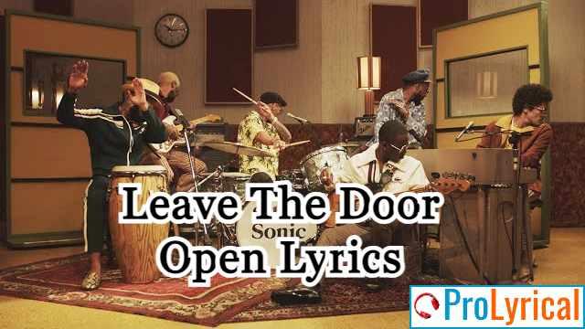 I'ma Leave The Door Open Lyrics - Bruno Mars