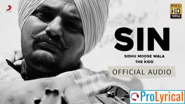 Sin Sidhu Moose Wala Lyrics
