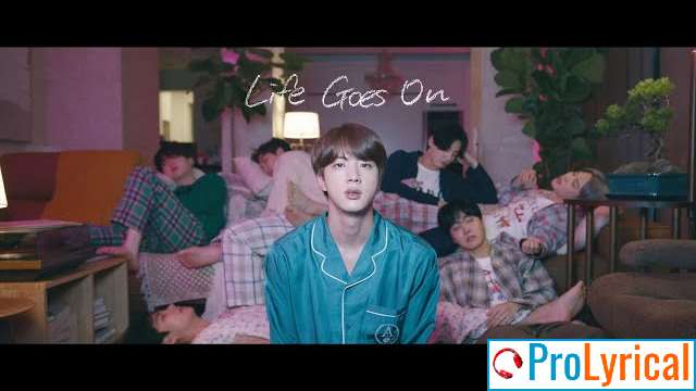 Life Goes On Lyrics - BTS