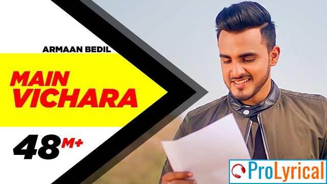 Main Vichara Kismat Hara Lyrics - Armaan Bedil