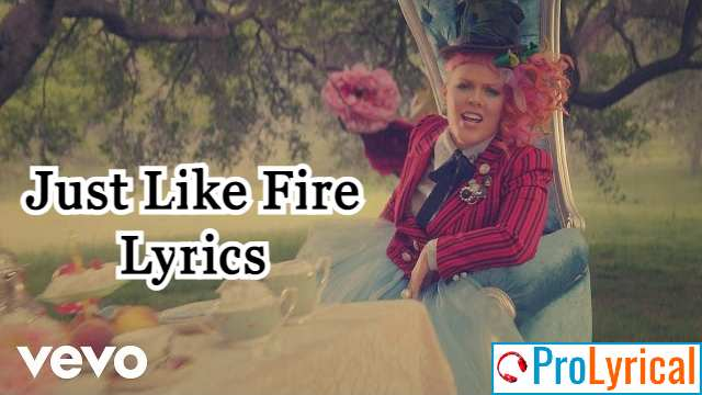 Watch This Madness Colorful Charade Lyrics - Pink