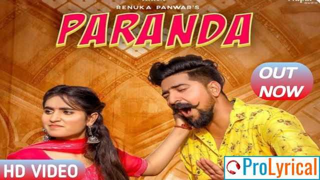 Paranda Lyrics - Renuka Panwar | Kay D