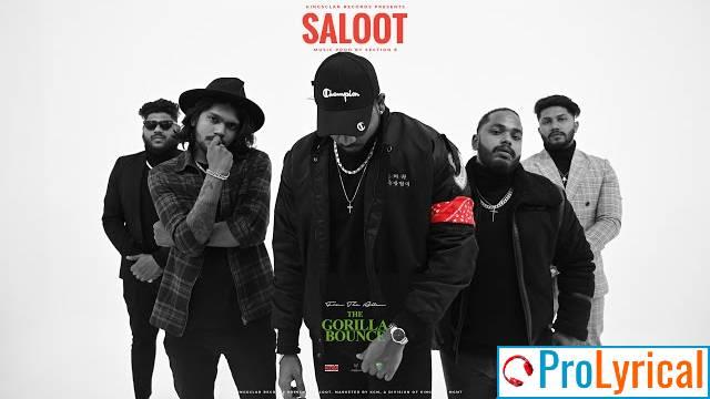 Saloot Lyrics - King