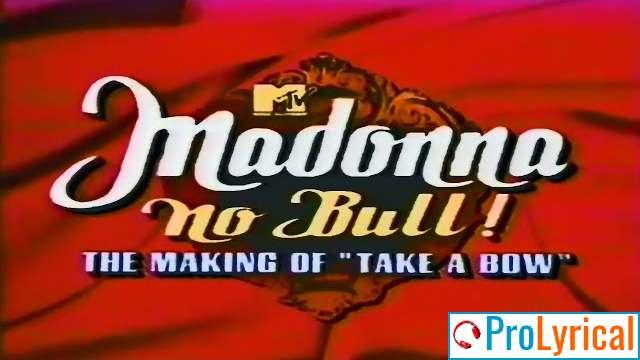 Take a Bow Madonna Lyrics | Bedtime Stories