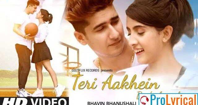 Teri Aankhein Badi Anmol Lyrics - Yasser Desai | Bhavin | Sameeksha