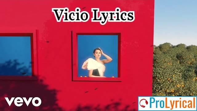 Vicio Lyrics - Selena Gomez   Revelación