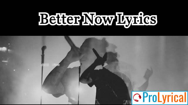 You Probably Think That You Are Better Now Lyrics
