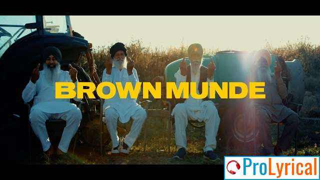 Clown Munde Brown Munde Lyrics - Ap Dhillon