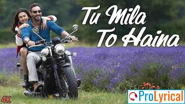 Der Se Hi Sahi Magar Tu Mila Lyrics - Arijit Singh