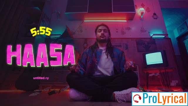 Haasa Lyrics - Chirag Khadka