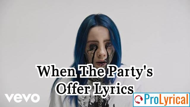 I Could Lie Say I Like It Like That Lyrics - Billie Eilish