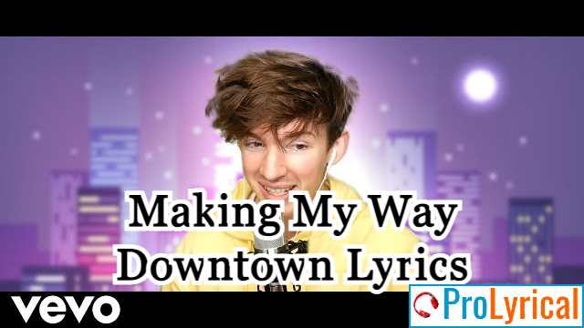 Making My Way Downtown Lyrics Flamingo