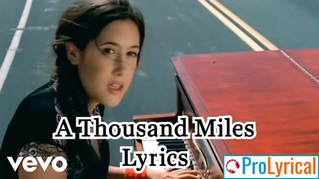 Making My Way Downtown Lyrics - Vanessa Carlton