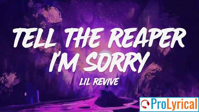 In My Life Tell The Reaper Im Sorry Lyrics - Lil Revive