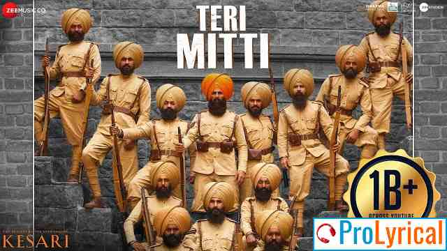 Teri Mitti Mein Mil Jawa Lyrics – Kesari